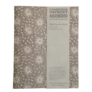 Cambridge Imprint Slim Exercise Book in Milky Way Smoke