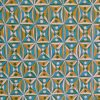 Cambridge Imprint Kaleidoscope Patterned Paper in Yellow and Blue
