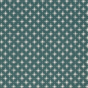 Cambridge Imprint Little Stars Patterned Paper in Petrol Blue