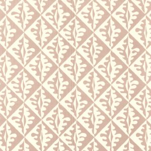 Cambridge Imprint Oak Leaves Patterned Paper in Pale Pink