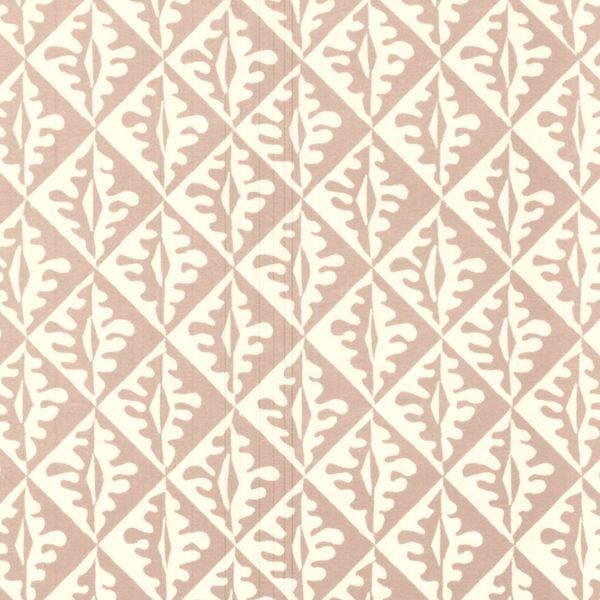 Cambridge Imprint Oak Leaves Patterned Paper in Pale Pink