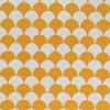 Cambridge Imprint Clamshell Patterned Paper in Transparent Orange