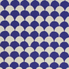 Cambridge Imprint Clamshell Patterned Paper in French Ultramarine