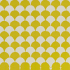 Cambridge Imprint Clamshell Patterned Paper in Acid Yellow