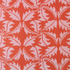 Cambridge Dandelion Imprint Patterned Paper in Rose and Rust