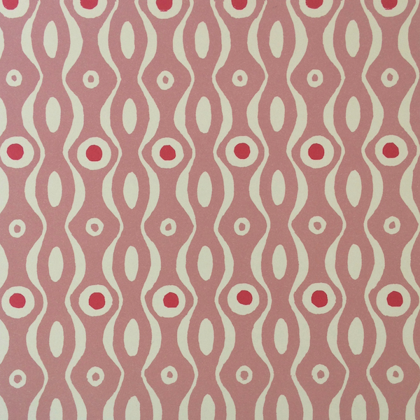 Cambridge Imprint Persephone Patterned Paper Pink and Raspberry