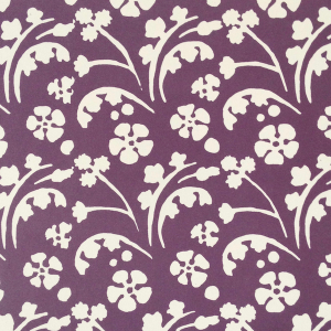 Cambridge Imprint Wild Flowers Patterned Paper in Violet
