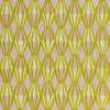 Cambridge Imprint Threadwork Patterned Paper in Calamine and Acid Yellow