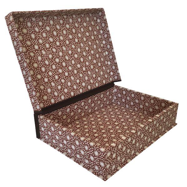 A5 Box File Animalcules Cocoa by Cambridge Imprint