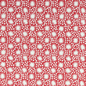 Cambridge Imprint Animalcules Patterned Paper in Crimson
