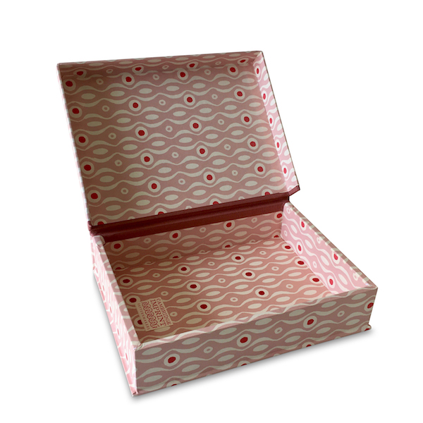 A5 Box File Persephone Box File Pink and Raspberry by Cambridge Imprint