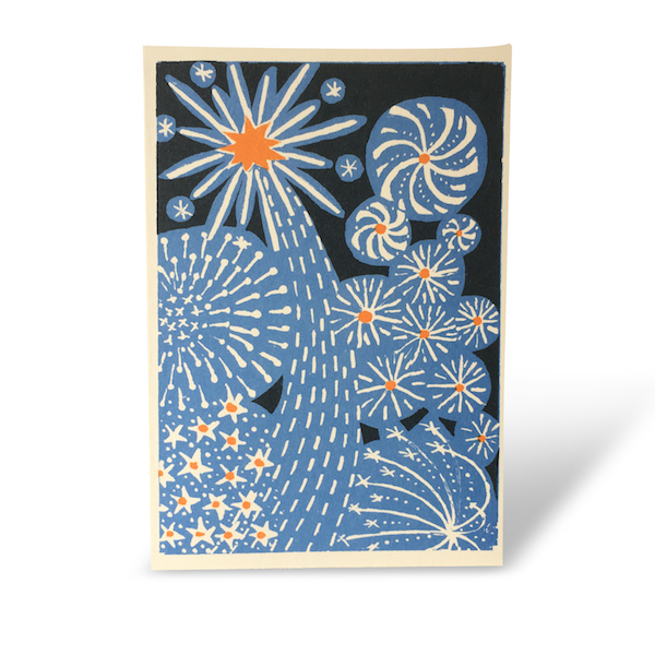 Fireworks Card by Cambridge Imprint