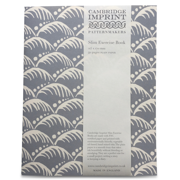 Cambridge Imprint Exercise Book in Wave Storm Grey