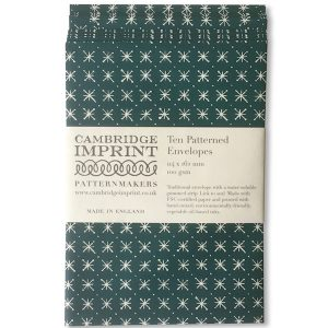 Cambridge Imprint Patterned Envelopes