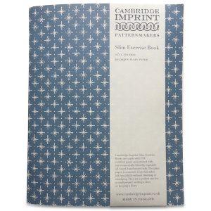 Cambridge Imprint Exercise Book in Little Stars Faded Denim