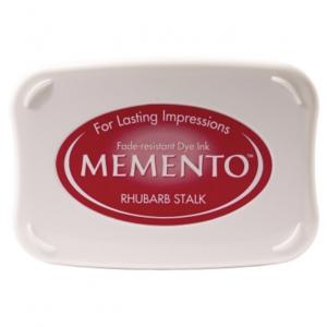 Memento Ink Pad Rhubarb Stalk