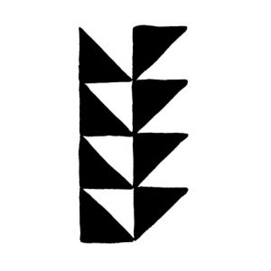 Cambridge Imprint Triangle Border Printing Block