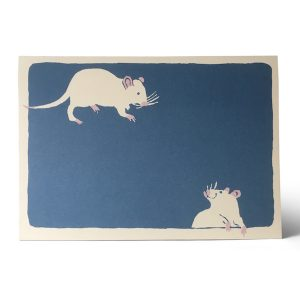 Two Bad Mice Card by Cambridge Imprint