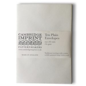 Plain Ivory Envelopes