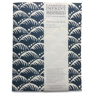 Cambridge Imprint Exercise Book in Wave Indigo