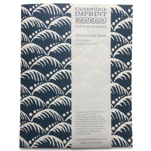 Cambridge Imprint Exercise Book in Wave Indigo