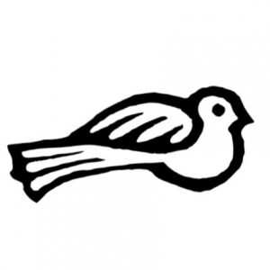 Cambridge Imprint Bird Printing Block