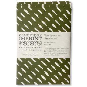 Cambridge Imprint Patterned Envelopes