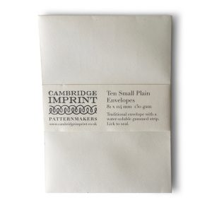 Small Plain Ivory Envelopes