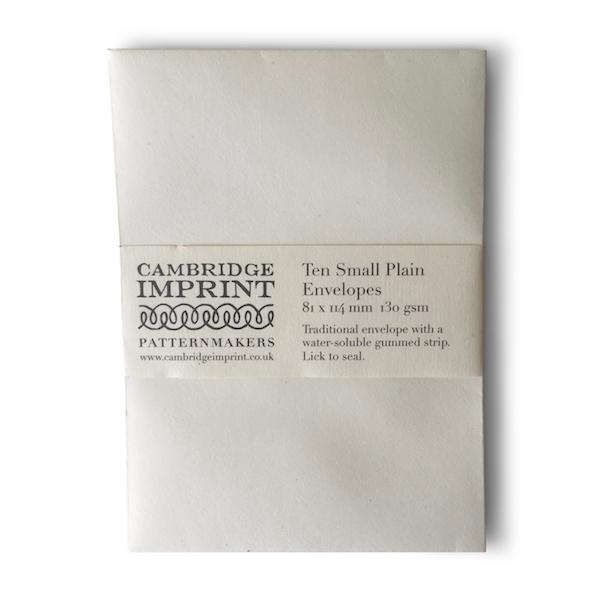 Small Plain Ivory Envelopes
