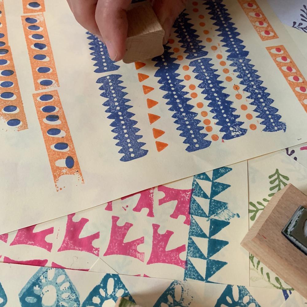 Cambridge Imprint Printing Blocks