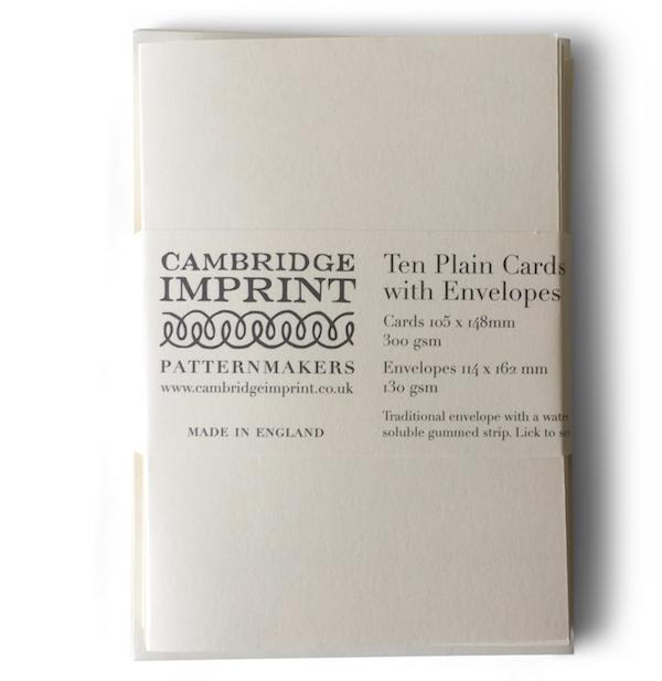 Plain Ivory Envelopes and Cards