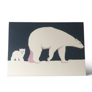 Baby Polar Bear Card by Cambridge Imprint