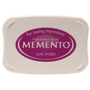 Memento Ink Pad Lilac Posies