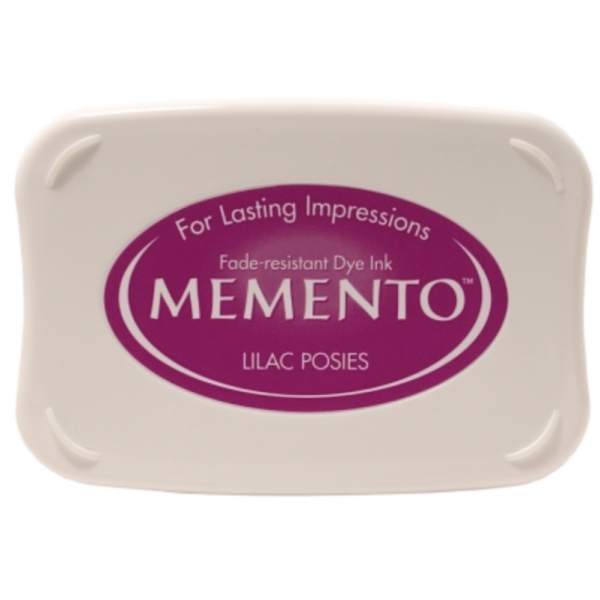 Memento Ink Pad Lilac Posies
