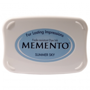 Memento Ink Pad Summer Sky