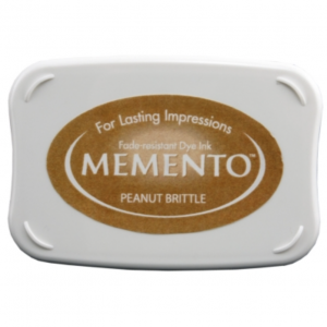 Memento Ink Pad Peanut Brittle
