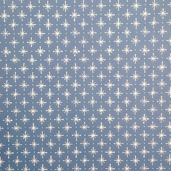 Little Stars patterned paper in Faded Denim by Cambridge Imprint