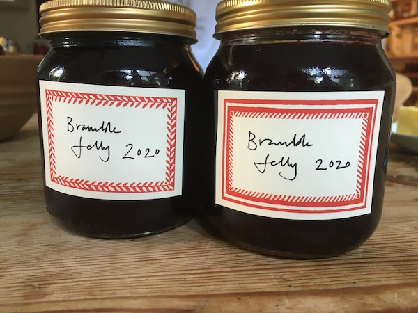 Jars of Bramble Jelly