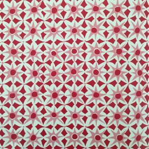 Alhambra Patterned Paper by Cambridge Imprint in Red and Pink