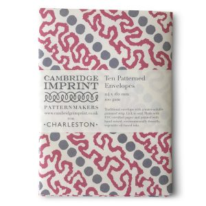 Patterned Envelopes in Charleston-inspired Patterns by Cambridge Imprint