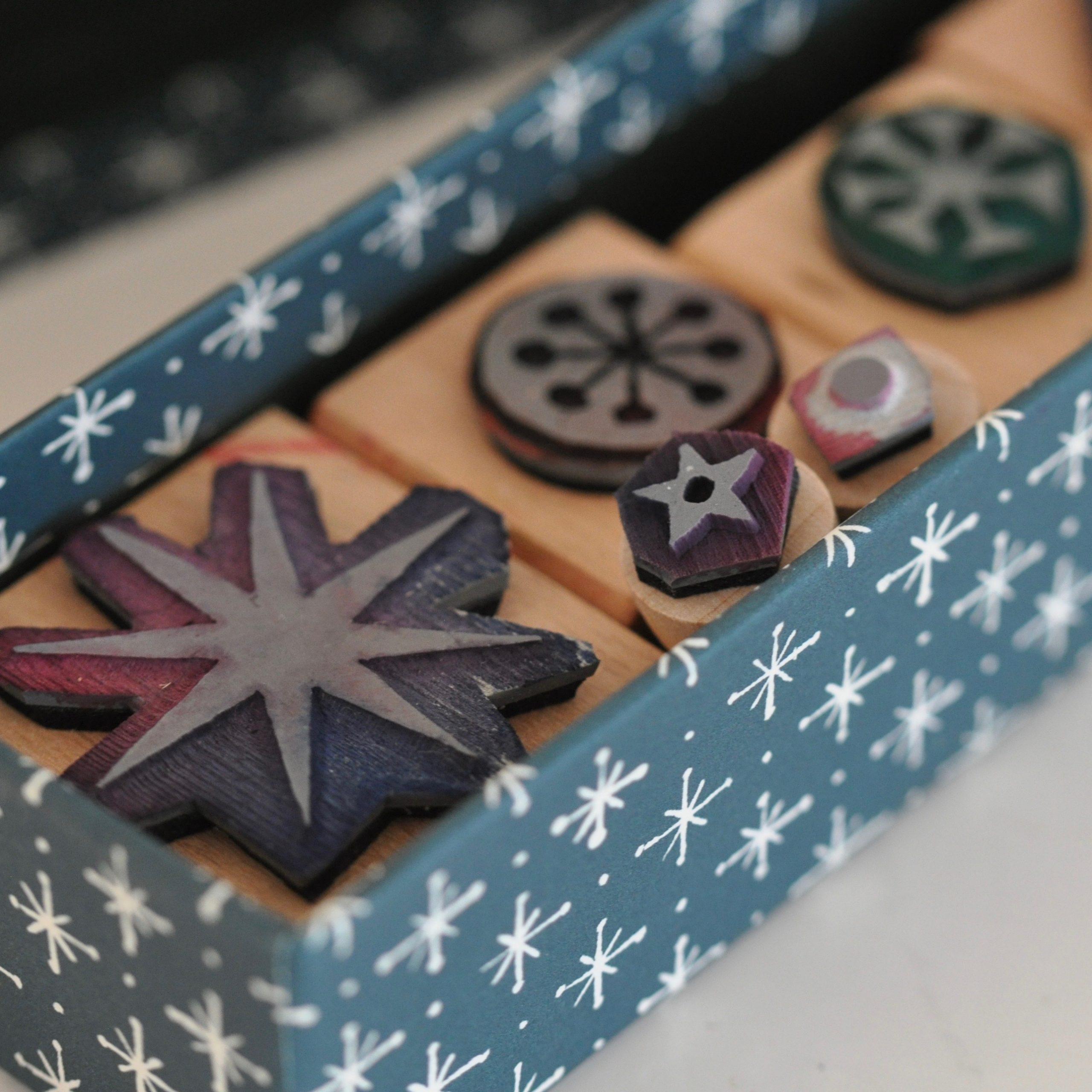 Small Set of Printing Blocks by Cambridge Imprint