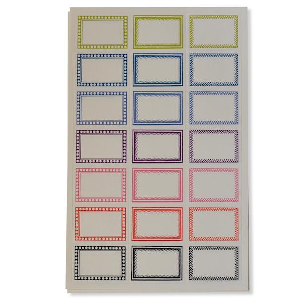 Labels by Cambridge Imprint