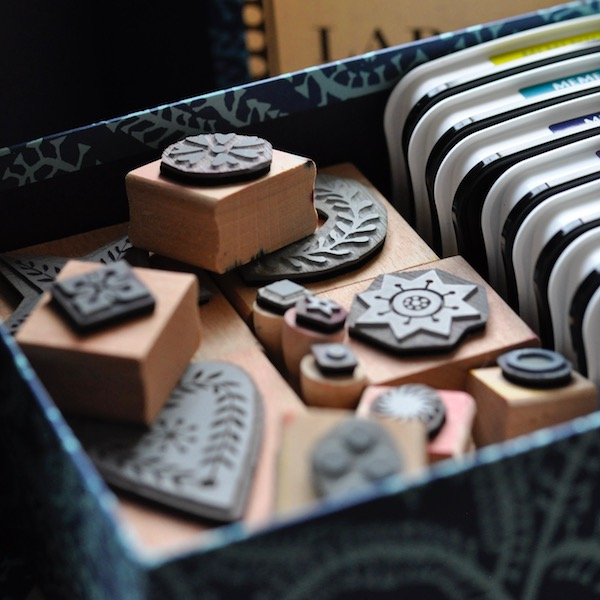 Large Set of Printing Blocks by Cambridge Imprint