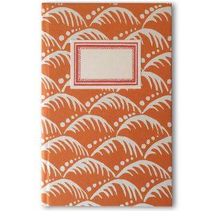 Cambridge Imprint Hardback Notebook in Wave Blood Orange