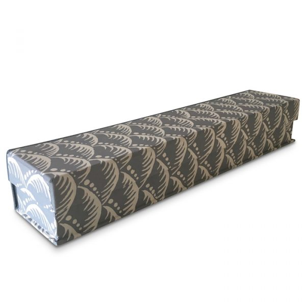 Cambridge Imprint Pen Boxcovered in Wave Patterned Paper