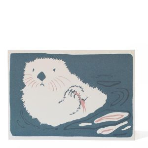 Sea Otter Card by Cambridge Imprint