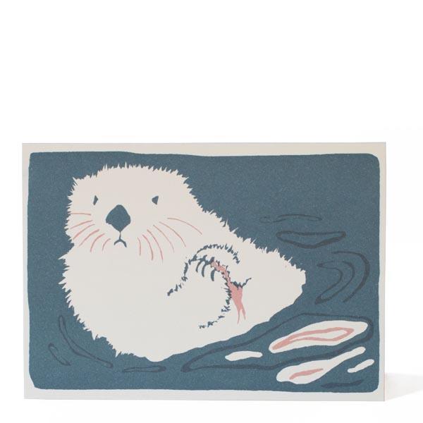 Sea Otter Card by Cambridge Imprint