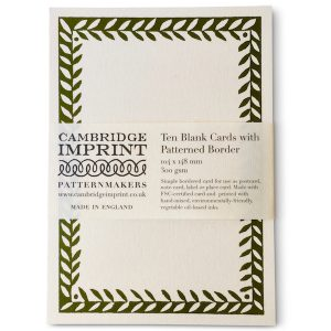 Cambridge Imprint Postcard with Border