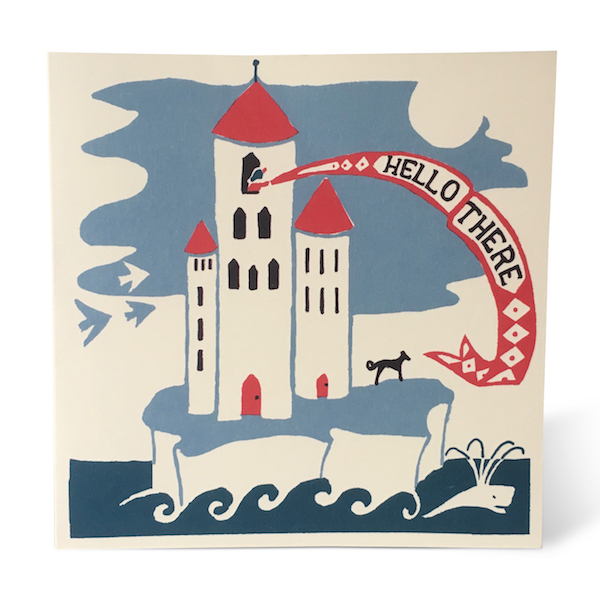 Lonely Tower card by Cambridge Imprint