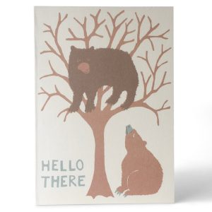 Cambridge Imprint Hello There Bear Card